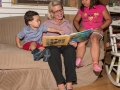 Ruth reading to children 1